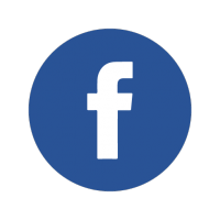 facebook icon and click